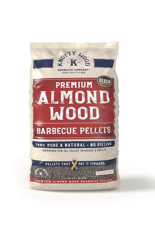 Almond Wood Pellets